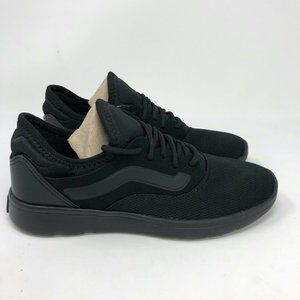 NEW Vans Iso Route Black on Black Men's Shoes Sz 7